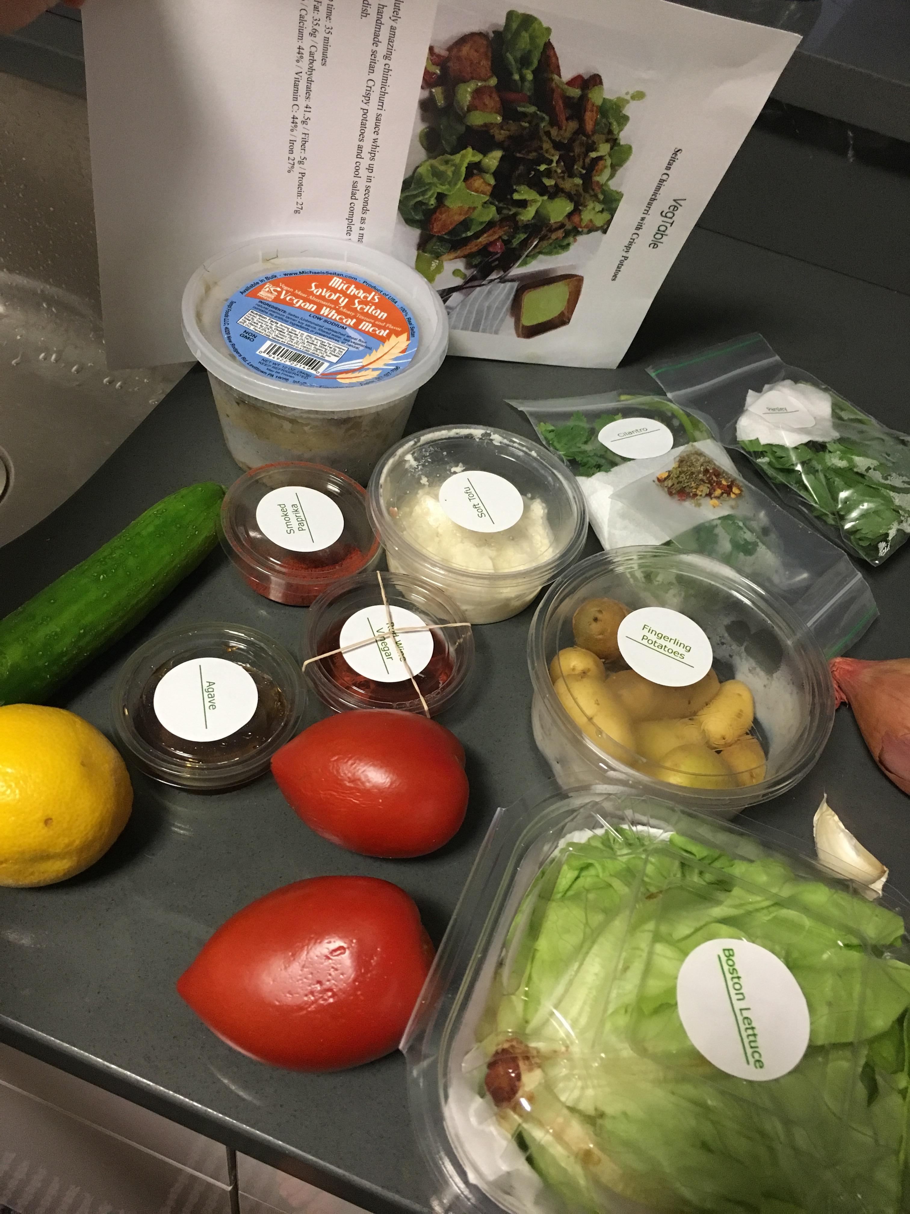 how to make hubby vegan
